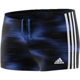 Adidas Boxer-Badehose Performance schwarz/blau