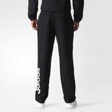 Adidas Trainingshose Herren ESS Stanford schwarz mit weißem Logo