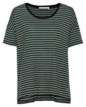 Shirt Ringel, Rundhals 1/2, Farbe : elephant mel