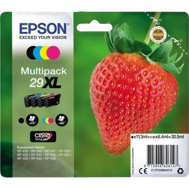 Epson Tintenpatrone C13T29964012 29XL sw/c/m/y 4 St./Pack.