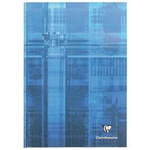 CLAIRFONTAINE Kladden A4 kariert 96Bl CF starker Deckel Einband blau