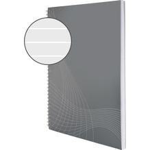 Avery Zweckform Collegeblock 7012 DIN A4 liniert 90g 80Blatt grau