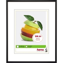 Hama Bilderrahmen Sevilla 00066222 21x29,7cm Kunststoff schwarz