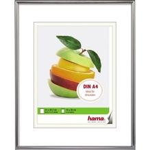 Hama Bilderrahmen Sevilla 00066432 21x29,7cm Kunststoff silber