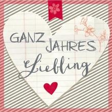 Serviette/33x33 Ganzjahres Liebling/taupe