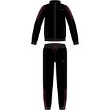Kinder Trainingsanzug Adidas Tasto PES schwarz/rot