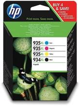 Nr. 934XL/935XL Tinte Combo Pack 4-farbig