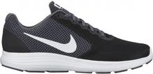 Nike Lauf-/Freizeitschuh Revolution 3 Herren schwarz/grau/weiß