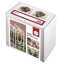 Mini-Gardening Set- Rose Garden, 9-teilig, weiß, Karton