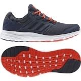 Adidas Herren Lauf-/ Freizeitschuh galxy 4 m navy/orange