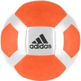 Adidas Fußball Glider II white/orange Gr. 5