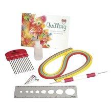 Quilling Starter Set, PVC-Box 1Set