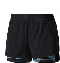 Adidas 2-in-1 Short Damen Farbe: black