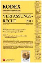 KODEX Verfassungsrecht 2017 (f. Österreich)