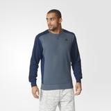 Herren Sweatshirt Adidas Essentials 3S Crew Fleece