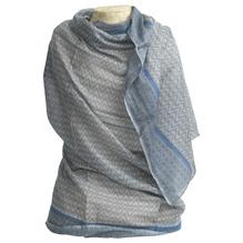 Schal ANIELA, grey/slag blue