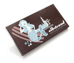 'Elbstrand' Hamburg Schokolade
