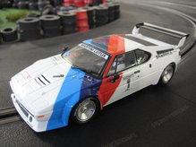 30814EVO Carrera Evolution BMW M1 Procar Andretti No. 1 1979
