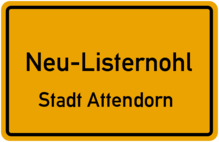 Highspeed Internet in Neu-Listernohl