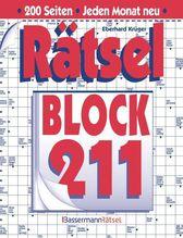 Rätselblock. Bd.211