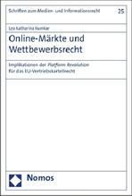Online-Märkte und Wettbewerbsrecht | Kumkar, Lea Katharina