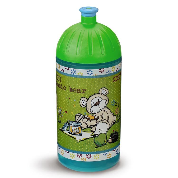 """Nici Trinkflasche """"Bär beige"""" 0,5l"""