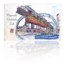 Wuppertaler Schokoladen Gruß - feine Vollmilch Schokolade