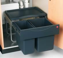 Einbau-Abfallsammler RAUMSPAR-TANDEM-S 076120
