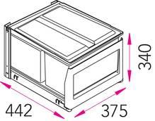 Einbau-Abfallsammler STALA EKO-3SK 070430