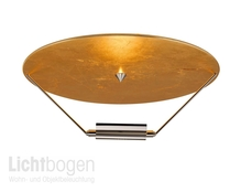 Catellani & Smith Deckenleuchte Disco doro Gold/Nickel dm 60cm