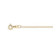 Halskette, Collierkette, Goldkette Rundanker in 585 Gelbgold, Kette in verschiedenen Längen erhältlich