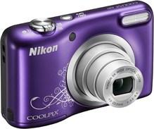 Coolpix A10 Kit Digitalkamera Violett Lineart