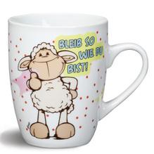 Nici Porzellan-Tasse 'bleib so wie du bist!'
