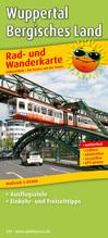 Rad- und Wanderkarte Wuppertal - Bergisches Land