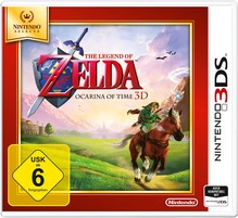 3DS The Legend of Zelda Ocarina of Time 3D Selects