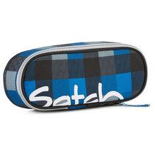 satch Schlamperrolle Airtwist Karo blau schwarz E-12-SSR-08