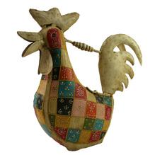 Dekorative Gießkanne aus Metall Rooster Hahn 573210325