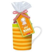 """Tasse """"Beste Mama"""" mit Fruchtgummibären"""